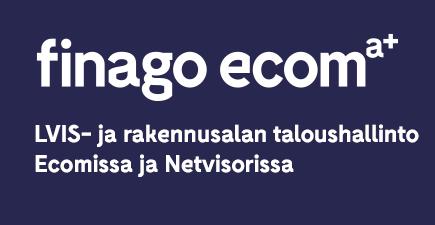 LVIS ja rakennusalan taloushallinto Ecomissa ja Netvisorissa - Webinaari Finago Ecom