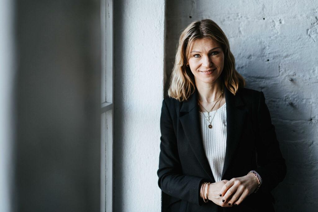 Toimitusjohtaja Anna Johansén